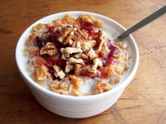 Carrot and Cranberry Oatmeal