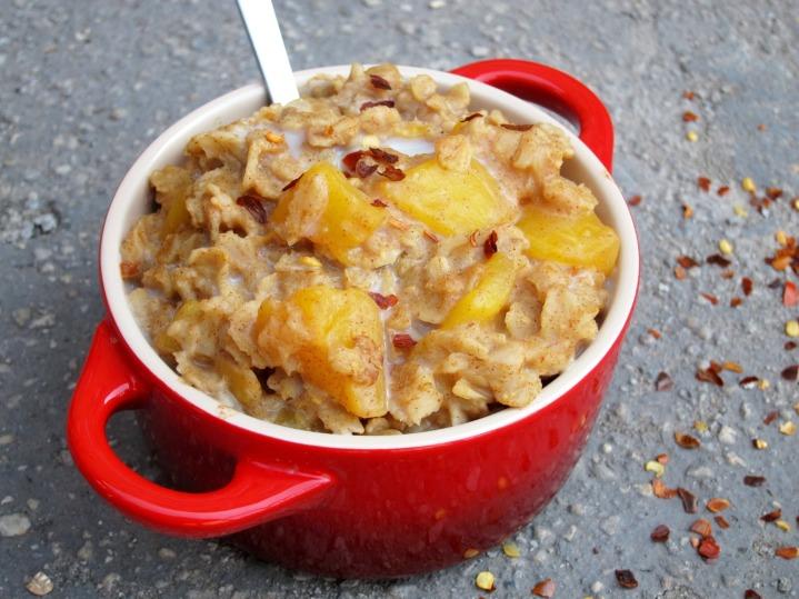 Spicy Mango Oatmeal